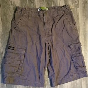 Lee Dungarees Husky Cargo Shorts
